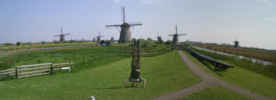 Netherlands-Kinderdijk