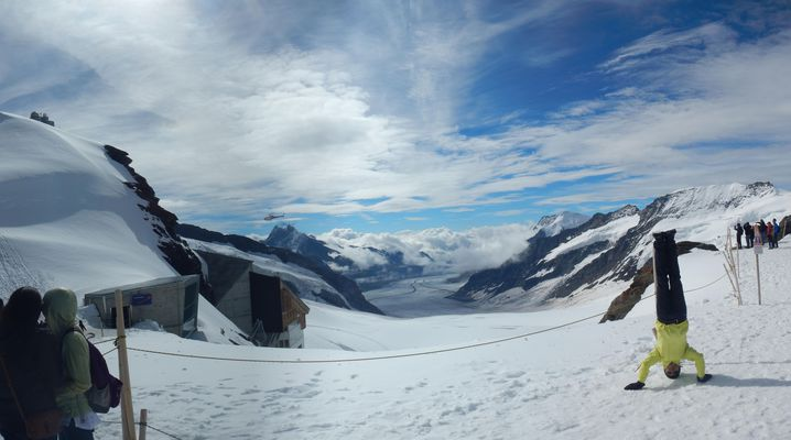 Switzerland-Jungfraujoch